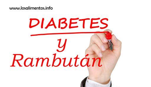 ¿Sirve el Rambután para el tratamiento de la diabetes? 1
