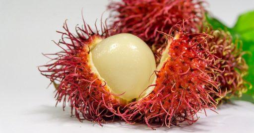 ¿Cómo pelar y comer un rambután? ¿Cómo es su sabor? 1